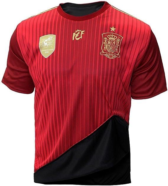 Selección española de fútbol. Camiseta oficial reversible. 2 en 1 ...