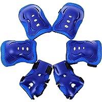 Meta-U 6 Pcs/Set Enfants Patinage de protection GEAR-2 coudières+2 Wrist Pad+2 Knee Pads