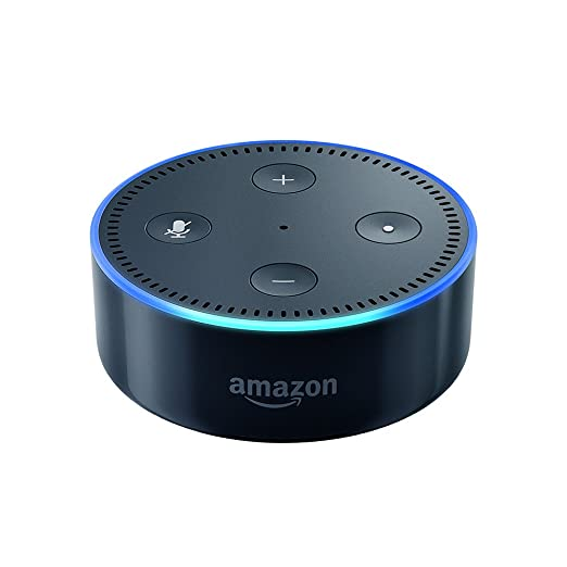 Amazon Echo Dot (2. Generation) Intelligenter Lautsprecher mit Alexa, Schwarz