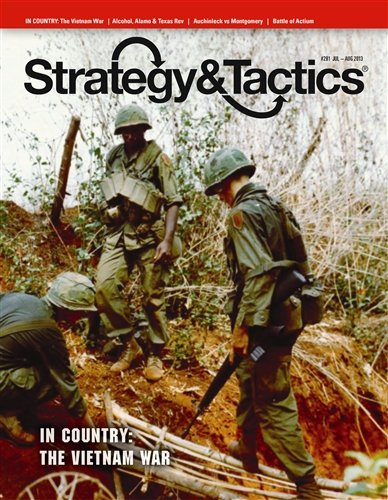 DG: Strategy & Tactics Magazine, Issue # 281, with In Country, The Vietnam War, Board Game