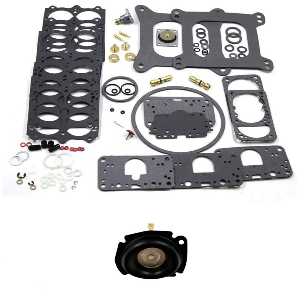iFJF Carburetor Rebuild Kit 3-200 for Holley Vacuum Secondary 1850 3310 3906 0750 CFM