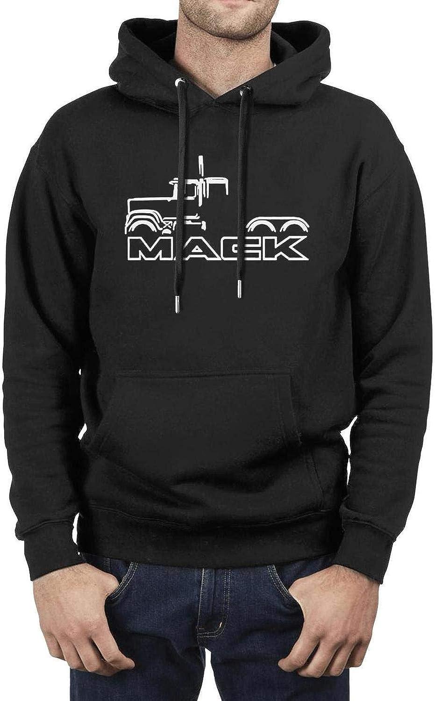 Su-perliner Xmbmkj Ma-ck Truck Mens Novelty Pullover Hoodies Loose Sweatshirts
