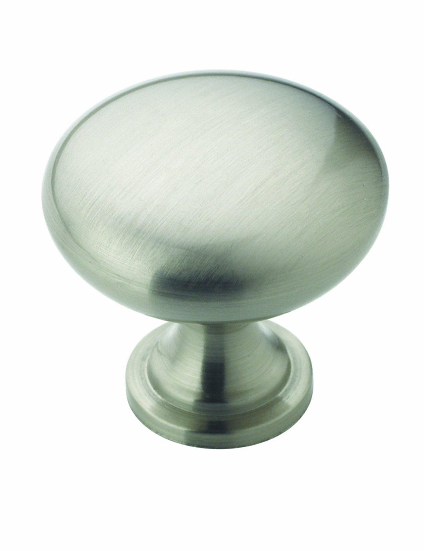 Amerock BP53005-G10 1-1/4-Inch Diameter Cabinet Round Knob, Satin ...