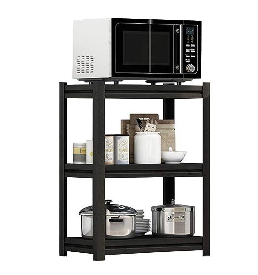 Shelf Bastidores de Cocina - Piso 3 Capas Horno de microondas ...