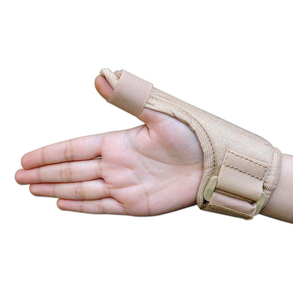 Pediatric férula para dedo pulgar, pulgar Spica tablilla para niños: Amazon.es: Salud y cuidado personal