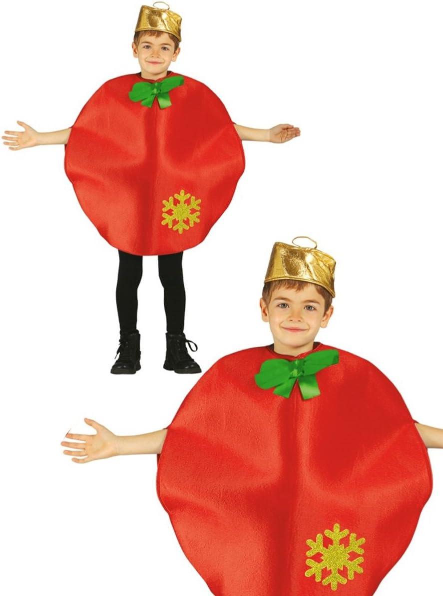 Disfraz de bola navidad infantil 7-9 años: Amazon.es: Juguetes y ...