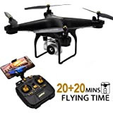 JJRC H68 Drone with Camera for Adults, 20+20...