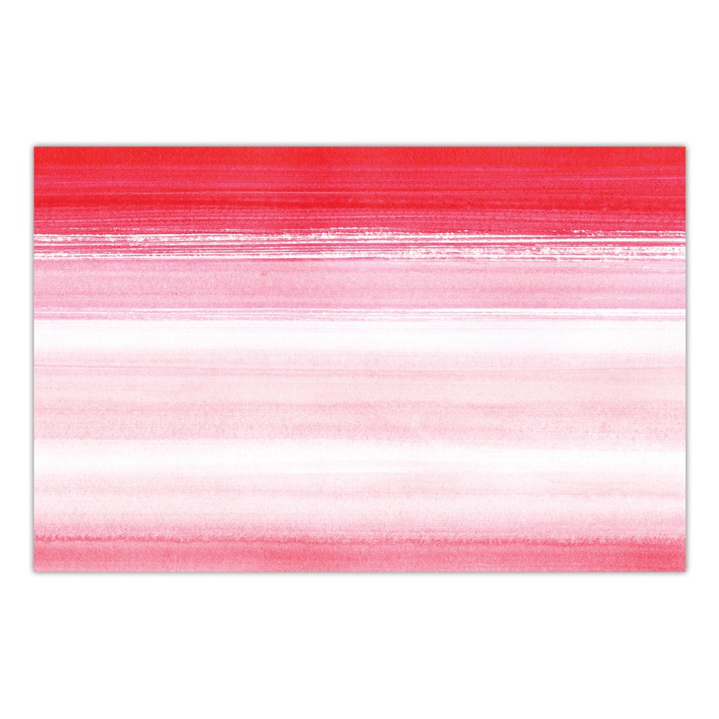 DB Party Studio Paper Placemats Pink 25 Count Disposable Place Mats Pink Hombre Style Engagement Bachelorette Parties Bridal Shower Rehearsal Dinner Easy Cleanup Dining Table Setting Decor 17 x 11