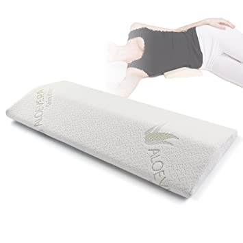 Soft Memory Foam Sleeping Pillow for Lower Back Pain,Multifunctional Lumbar Support  Cushion for Hip