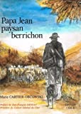 img - for Papa Jean paysan berrichon book / textbook / text book