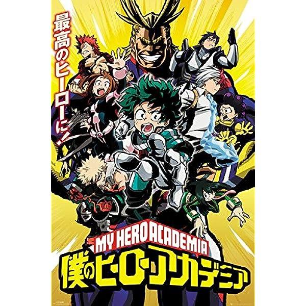 My Hero Academia Anime Manga Large Poster Art Print Gift A0 A1 A2 A3 A4 Maxi