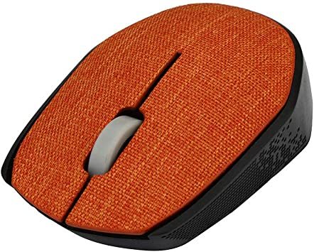 2.4Ghz Slim Portable Optical Wireless Mouse Gaming Soft Fabric Cover Mice