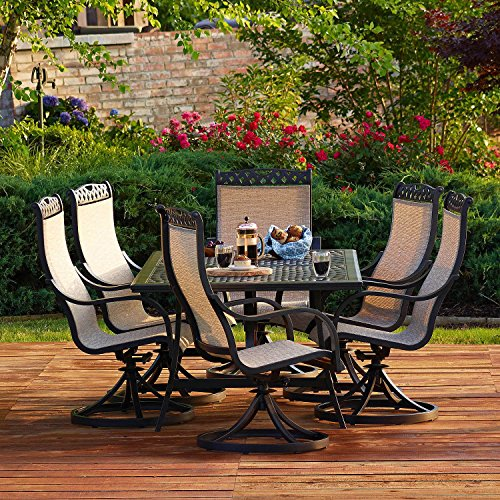 Miller S Creek 7 Piece Dining Set By Member S Mark Green Ankles Gardening Supplies Equipment