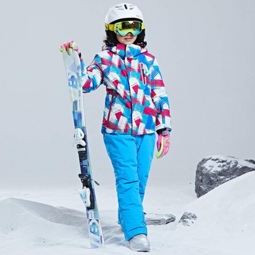 AXIANNV Traje de esquí para niños/niñas Pantalones Impermeables ...