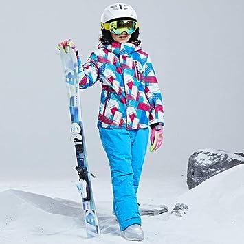 AXIANNV Traje de esquí para niños/niñas Pantalones ...
