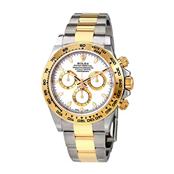 Amazon Com Rolex Cosmograph Daytona White Dial Stainless Steel And