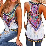 Mosunx(TM) Women New Summer Vest Top Sleeveless Blouse Casual Tank Tops T-Shirt