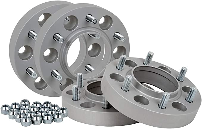 Spurverbreiterung Aluminium 4 Stück 30 Mm Pro Scheibe 60 Mm Pro Achse Inkl TÜv Teilegutachten Auto