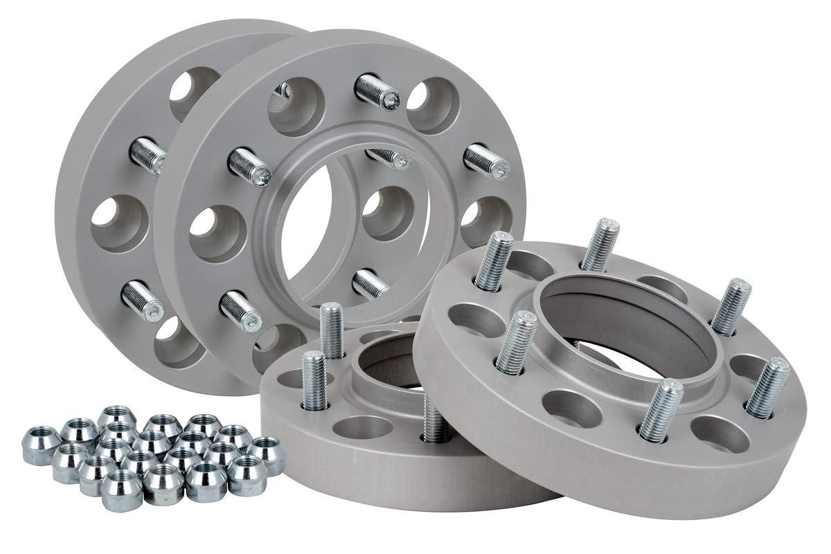 T/ÜV-Teilegutachten Spurverbreiterung Aluminium 4 St/ück incl 30 mm pro Scheibe // 60 mm pro Achse
