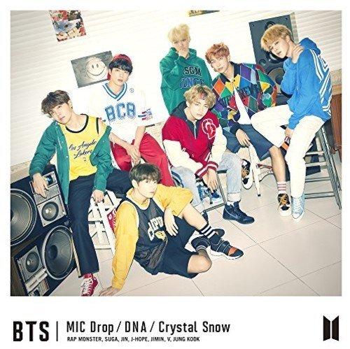 CD : BTS - Mic Drop / DNA / Crystal Snow: Type A (Japan - Import, 2 Disc)