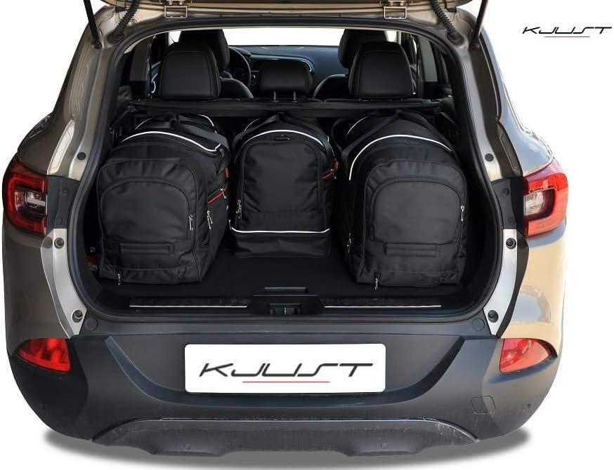 KJUST Dedizierte Reisetaschen 4 STK Set kompatibel mit Renault KADJAR I 2015