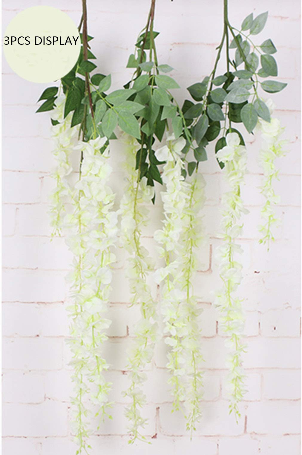 Anlise-Artificial-Silk-Wisteria-Vine-Ratta-Fake-Hanging-Garland-Flowers-for-Home-Wedding-Party-Decor-Pack-of-6