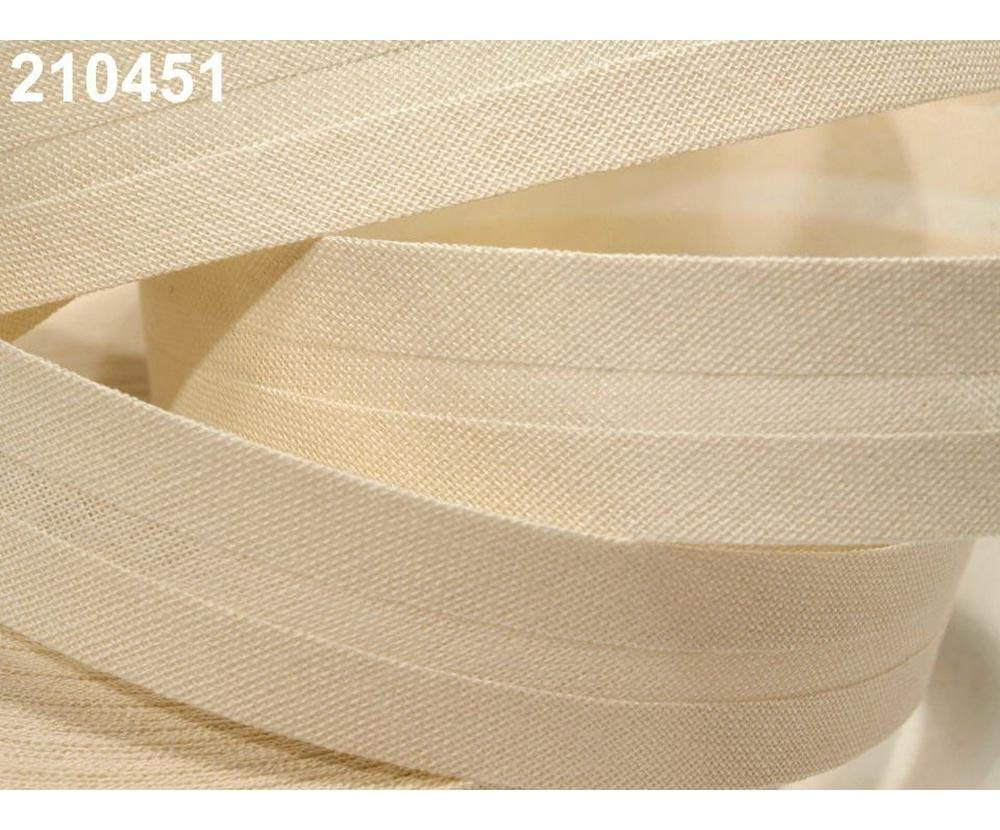 and Other Tape Folded 25m 821 Adobe Single Fold Bias Binding Cotton Width 20mm Haberdashery