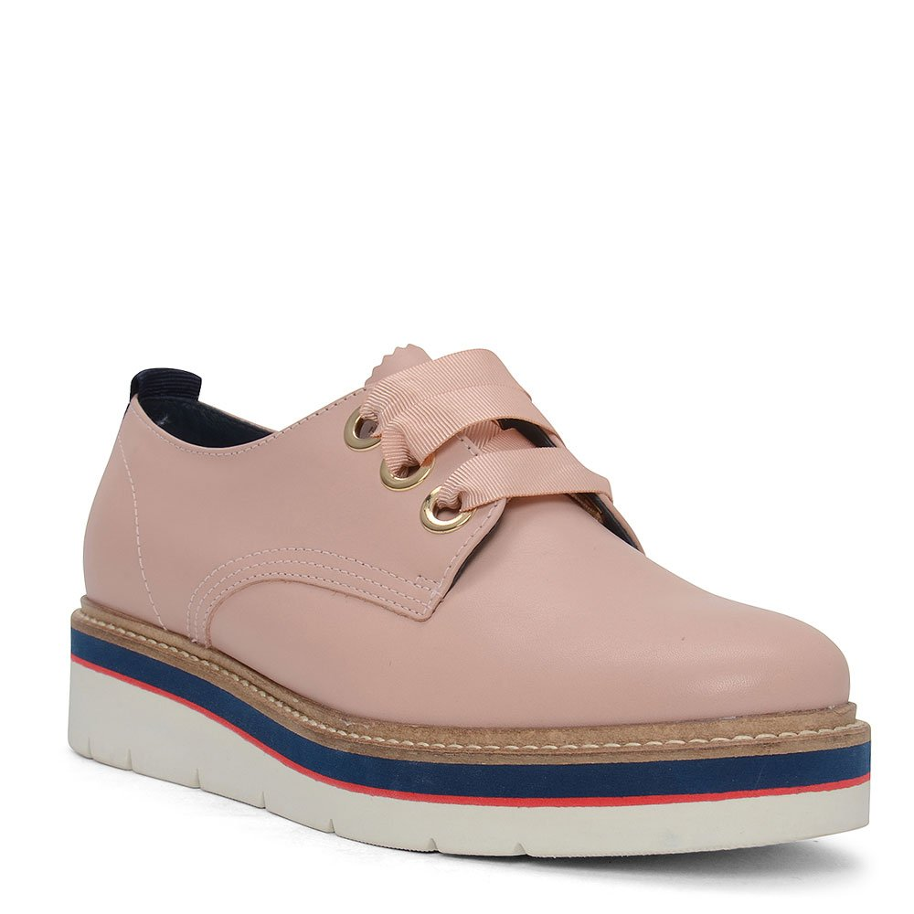 f2da573036ac94 Tommy Hilfiger Manon 4a Contrast Platform Brogue in Pink - Size 37   Amazon.co.uk  Shoes   Bags