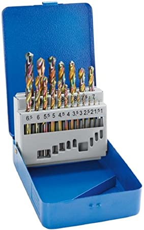 Juego de brocas de acero Powerfix profitools juego de brocas 19 Teilig: Amazon.es: Bricolaje y herramientas
