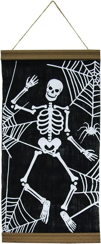 CWI Gifts 23x12 Skeleton Wall Banner