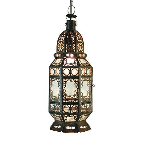 Marrakech Accessoires - Lámpara de techo (fabricada a mano ...