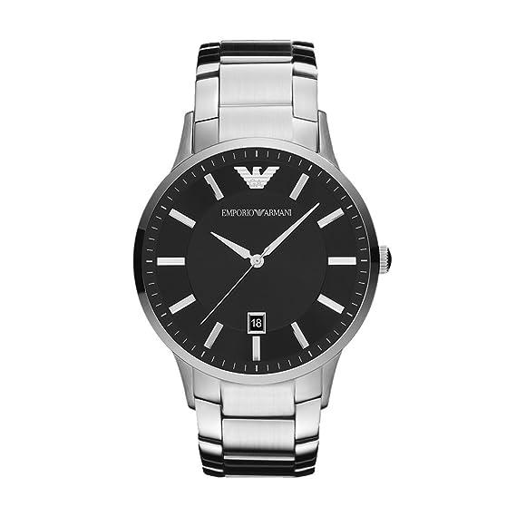 106c66390987 Relojes Hombre EMPORIO ARMANI ARMANI TEMPO AR2457  Amazon.es  Relojes