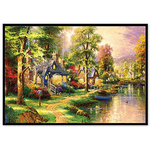 - Diamond Painting, LUCA DIY 5D Diamond Painting Kits for Adult Counted Cross Stitch Kits Embroidery Mosaic Art Painting Supplies(H,30 * 25cm)