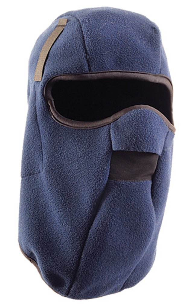 Stay Warm - PLUSH FLEECE - One Layer Mid-Length w/Face Mask Winter Liner - LF648-12-PACK