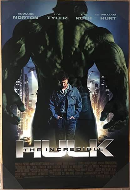 Image result for the incredible hulk poster