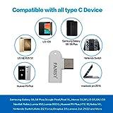 USB C Type C Adapter OTG 3-Pack, FANISY Micro USB
