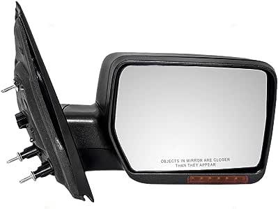 New Premium Passenger Side Door Mirror Power Heated Not Painted 6L7Z17682BA