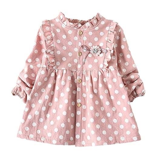 Amazon Com Toddler Baby Girls Princess Dress Fall Winter Warm