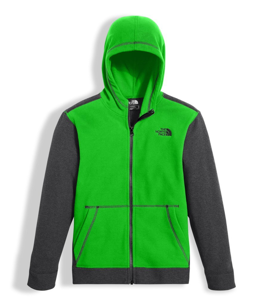 The North Face Boy's Glacier Full Zip Hoodie A2U4F