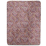 Ethno Mandalas Fitted Sheet: King Luxury Microfiber, Soft, Breathable
