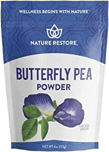 Butterfly Pea Flower Powder, 4 Ounces, High in Antioxidants, Natural Food Coloring
