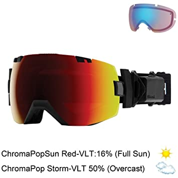 Smith Optics I/OX Turbo - Gafas para Ventilador - IL5CPRBK18, Talla única,
