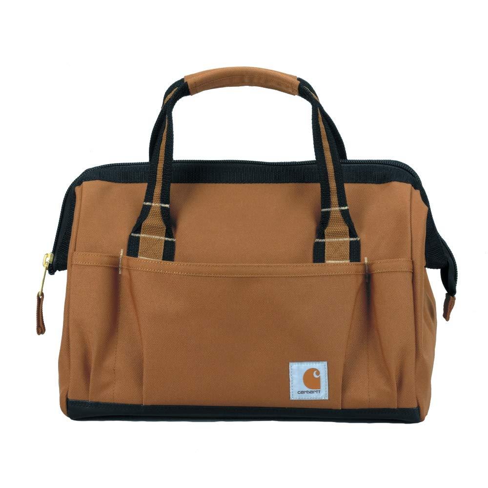 Carhartt Gear 390105B Heritage 14 Tool Bag One Size Fits All Carhartt Brown