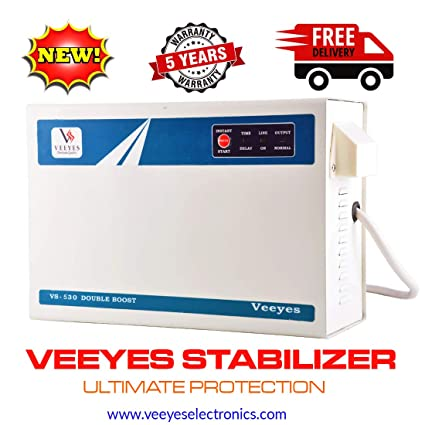 VEEYES Voltage Stabilizer for Air Conditioner Upto 2TN (Working