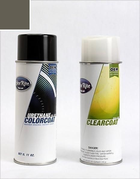 ColorRite Aerosol Hyundai Elantra Automotive Touch-up Paint - Carbon Gray Metallic Clearcoat 9A -