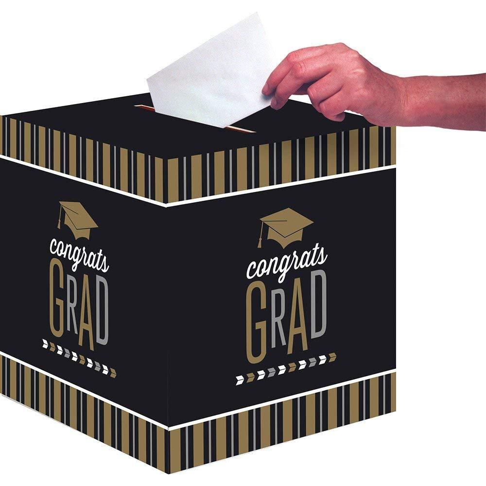 Amazon.com: creative converting 327478 caja de tarjeta ...