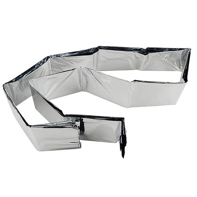 Amazon.com: meanhoo Solar de emergencia Manta Plata térmico ...