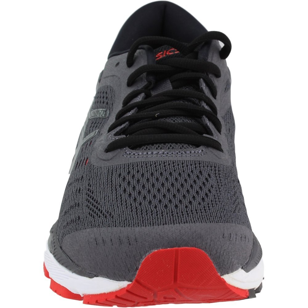 ASICS Gel-Kayano 24 Men's Running Shoe, Dark Grey/Black/Fiery Red, 6.5 M US by ASICS (Image #5)