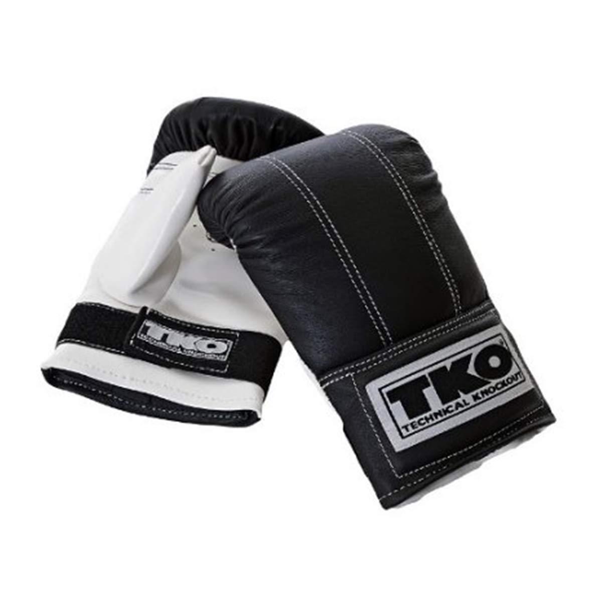 Proスタイルバッグ手袋inブラックandホワイト( Large – Xtra Large )