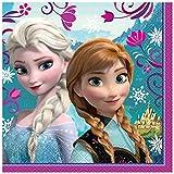 Unique Disney Frozen Luncheon Napkins, 16-Count